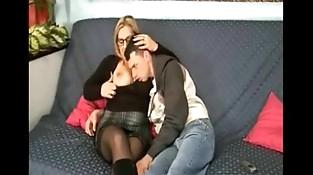 italiana mom and boy