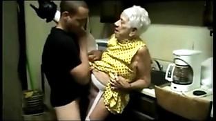 Granny 91 yo fucking boy 21 yo