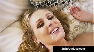 Hot Step Mom Julia Ann Gets Nude &amp_ Nasty with Step Son!