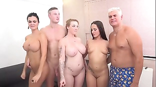 Awesome Foursome with  JAsmin Jae &amp_ Mea Melone &amp_ Harmony Reigns