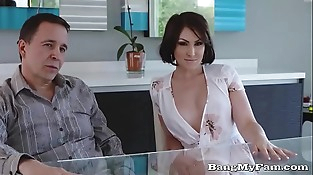 Beautiful Aussie Yasmin Scott Bangs Awe-Struck Nephew