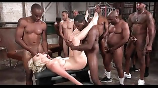 Group sex Wifey BLACK COCKS Assfuck Tugging