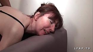 Mature francaise sodomisee fistee avec ejac buccale pour casting porno unexperienced