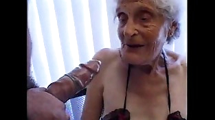 Granny 93 yo fuck cunt at boy 35 yo