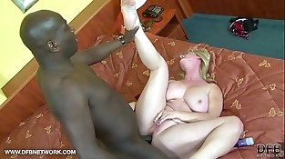 BIG TITS GRANNY WANTS BLACK COCK CUMSHOT ON HER Knockers AFTER INTERRACIAL Hookup