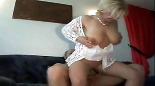 German Blonde Sexy Mom