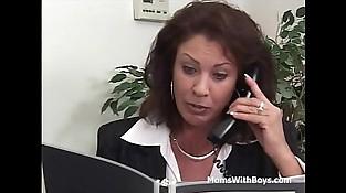 Mature Office Fuck With Vanessa Videl - Utter Movie