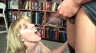 Youthfull Stud Pisses and CUMs in My Mouth