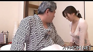 Lustful mom receives kinkly with faux-cock