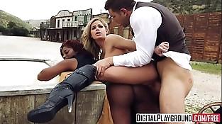 XXX Porn flick - Rawhide Scene 5 (Jasmine Webb, Jessa Rhodes, Juan Lucho)