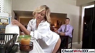Superb Mature Lady (alena kennedy) In Cheating Lovemaking Story clip-03