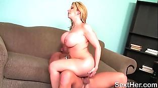 Huge Nut Porno Starlet Sara Jay Tit Fucking