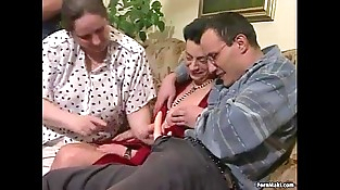 Big-titted Granny Gets Dicked Down