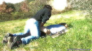 Making The Love On The Grass