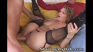 Mature Babe Gets Her Younger Man